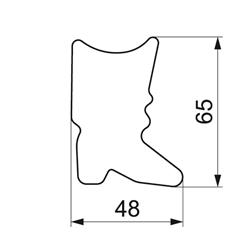 WALT NADINE SATIN-ROSE MISA N/N 265-3107